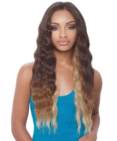 Natural Brazilian Bundle 1 Pack Solution Syn Loose Wave 6PCS