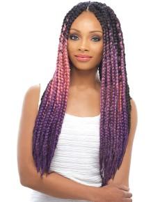 Janet Syn Pre Dyed Pastel Color Jumbo Braid Kanekalon