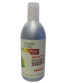 Hawaiian Silky Apple Cider Vinegar Charcoal Activated Shampoo