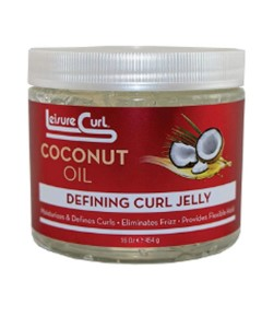 Leisure Curl Coconut Oil Defining Curl Jelly