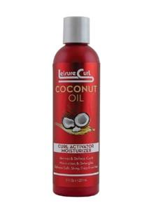 Leisure Curl Coconut Oil Curl Activator Moisturizer