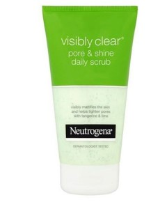 Neutrogena Visibly Clear Pore And Shine Daily Scrub