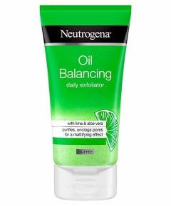 Neutrogena Oil Balancing Lime And Aloe Vera Daily Exfoliator