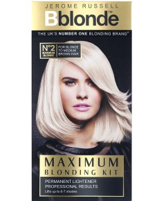 Bblonde Maximum Blonding Kit No 2 Blonde To Medium Brown Hair