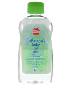 Johnsons Baby Oil With Aloe Vera