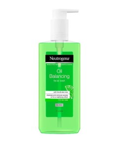 Neutrogena Oil Balancing Facial Wash With Lime And Aloe Vera