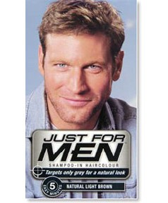 Just For Men Shampoo In Haircolour Dark Brown Black