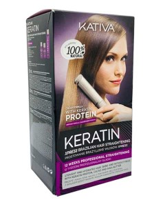 Keratin Post Alisado Xpress Post Straightening Kit