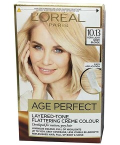 Age Perfect Layered Tone Flattering Creme 10.13 Very Light Ivory Blonde