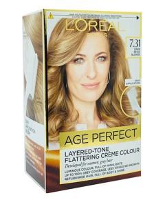 Age Perfect Layered Tone Flattering Creme Color 7.31 Dark Beige Blonde