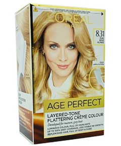 Age Perfect Layered Tone Flattering Creme Color 8.31 Pure Beige Blonde