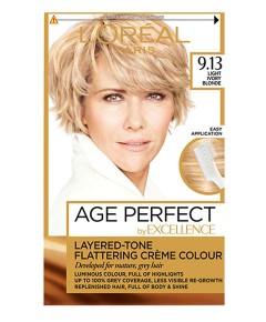Age Perfect Layered Tone Flattering Creme 9.13 Light Ivory Blonde