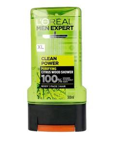 Men Expert Clean Power Citrus Wood Shower