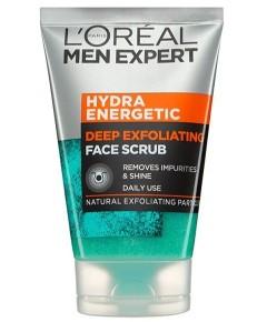 Men Expert Hydra Energetic Deep Exfoliating Face Scrub