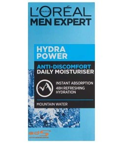 Loreal Paris Men Expert Hydra Power Anti Discomfort Mountain Water 48H