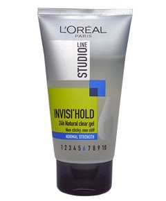 Studio Line Invisi Hold 24H Natural Clear Gel Normal Strength