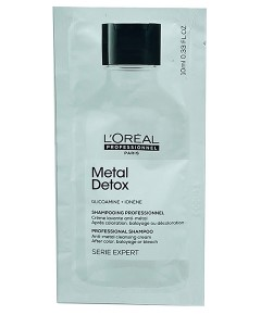 Metal Detox Professional Shampoo Sachet