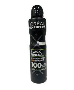 Men Expert Black Mineral Ultra Absorbing 48H Deodorant