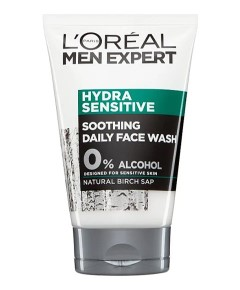 Men Expert Hydra Sensitive Soothing Daily Face Wash