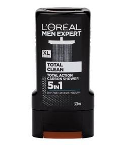 Men Expert Total Clean Carbon 5 In 1 Shower Gel