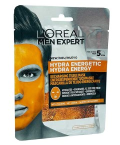 Men Expert Hydra Energetic Recharging Tissue Mask