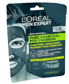 Men Expert Pure Charcoal Purifying Tissue Mask