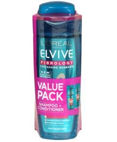 Elvive Fibrology Value Pack
