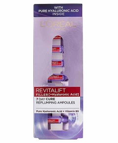 Revitalift Filler 7 Day Cure Replumping Ampoules