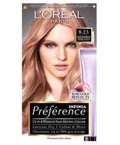 Preference Infinia Permanent Colour 8.23 Shimmering Rose Gold