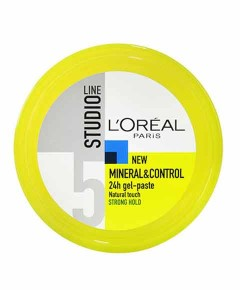 Studio Line 5 Mineral And Control 24H Gel Paste Strong Hold