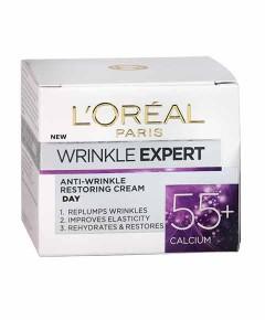 Wrinkle Expert Anti Wrinkle Restoring Night Cream 55 Plus Calcium