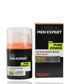 Men Expert Pure Power Active Moisturiser Anti Spot