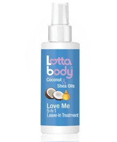 Coconut And Shea Oils Love Me 5 In 1 Leave In Treatment