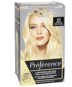 Preference Infinia Permanent Color 01 Natural