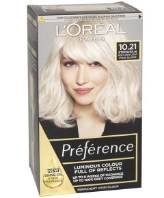Preference Infinia Permanent Color 10.21 Stockholm