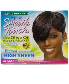 Pink Smooth Touch Olive Oil No Lye Relaxer