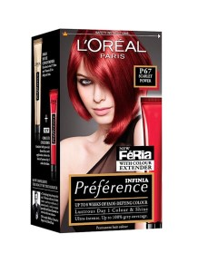 Preference Infinia Permanent Colour P67 Scarlet Power