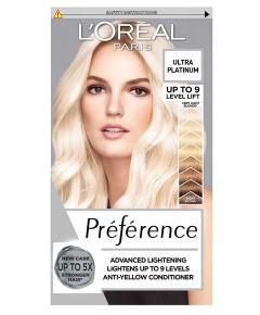 Preference Permanent Color Ultra Platinum
