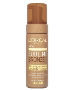 Sublime Bronze Self Tanning Golden Mousse