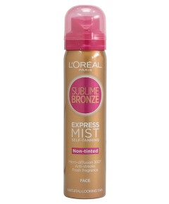Sublime Self Tanning Dry Mist For Face