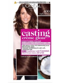 Casting Creme Gloss Conditioning Colour 400 Dark Brown