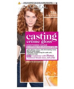 Casting Creme Gloss Conditioning Colour 734 Rich Honey