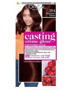 Casting Creme Gloss Conditioning Colour 354 Mahogany Heena