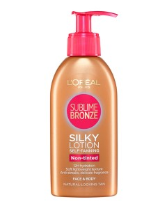 Dermo Expertise Sublime Bronze Self Tanning Silky Lotion