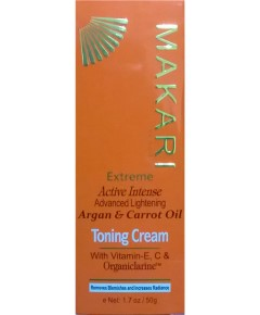 Extreme Active Intense Argan And Carrot Oil Toning Cream