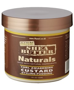 Shea Butter Naturals Curl Awakening Custard Styling Pudding