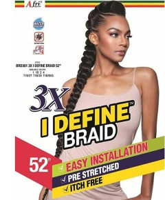 Afri Naptural 3X I Define Easy Braids
