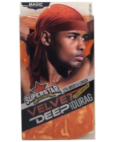 Magic Collection Superstar Velvet Deep Wave Durag 4803ORA