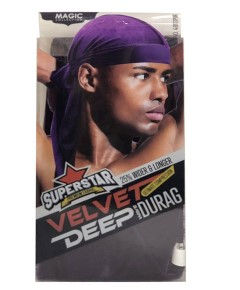Magic Collection Superstar Velvet Deep Wave Durag 4803Pur