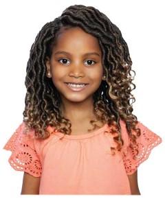 Afri Naptural Pre Stretched Syn Nini Wavy Goddess Kids Locs
